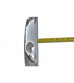 17,5 inch stainless wheel trim Swedish Style Front
