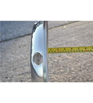 17,5 inch stainless wheel trim Truck Style Front