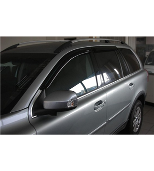 XC90 03-14 Wind deflectors dark smoke (set of 4)