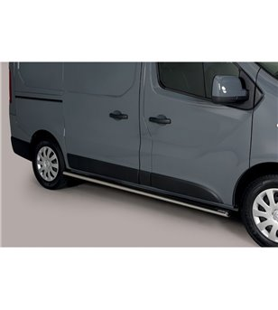Renault Trafic 2019- Oval Side Protection