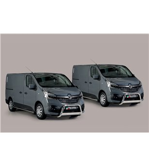 Renault Trafic L1 2019- Oval Side Protection