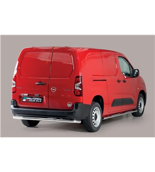 Combo LWB L2 18- Oval Design Side Protections Inox