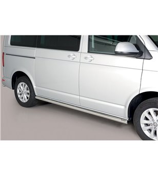 VW T6 Side Protections Inox