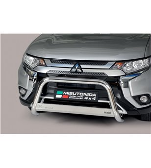 Outlander 2020- EC Approved Medium Bar Inox - EC/MED/392/IX - Bullbar / Lightbar / Bumperbar - Unspecified - Verstralershop