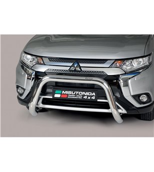 Outlander 2020-, EC Approved Super Bar Inox - EC/SB/392/IX - Bullbar / Lightbar / Bumperbar - Unspecified - Verstralershop