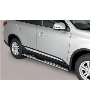 Outlander 2020- Design Side Protections Inox - DSP/341/IX - Sidebar / Sidestep - Unspecified - Verstralershop