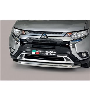 Outlander 2020- Slash Bar Inox - SLF/392/IX - Bullbar / Lightbar / Bumperbar - Unspecified - Verstralershop