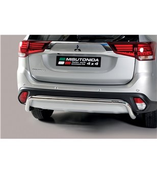 Outlander 2020- Rear Protection Inox - PP1/392/IX - Rearbar / Opstap - Unspecified - Verstralershop