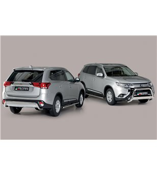 Outlander 2020- Rear Protection Inox