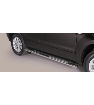 Suzuki Grand Vitara 2013- Design Side Protection Oval - DSP/236/IX - Sidebar / Sidestep - Unspecified - Verstralershop