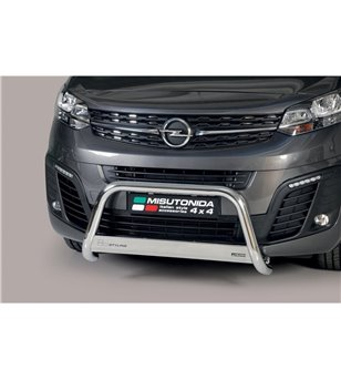 Zafira 2020-, EC Approved Medium Bar Inox - EC/MED/482/IX/W - Bullbar / Lightbar / Bumperbar - Unspecified - Verstralershop