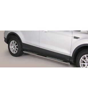Ford Kuga 2013- Design Side Protection Oval - DSP/340/IX - Sidebar / Sidestep - Unspecified