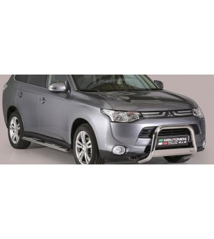 Mitsubishi Outlander 2013- Medium Bar inscripted EU - EC/MED/K/341/IX - Bullbar / Lightbar / Bumperbar - Unspecified