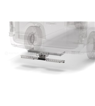 RENAULT TRAFIC 14+ RUNNING BOARDS to tow bar pcs LARGE - 888420 - Rearbar / Rearstep - Verstralershop