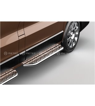 RENAULT TRAFIC 14+ RUNNING BOARDS VAN TOUR for sidedoor pcs - 828011 - Sidebar / Sidestep - Metec Van - Verstralershop