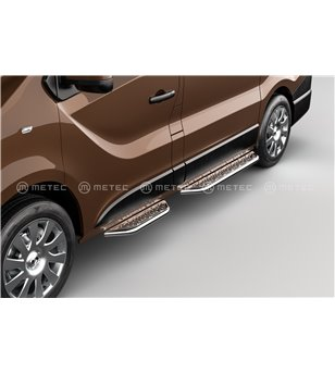 RENAULT TRAFIC 14+ RUNNING BOARDS VAN TOUR for sidedoor pcs