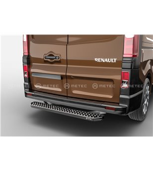 RENAULT TRAFIC 14+ RUNNING BOARDS VAN TOUR for rear doors pcs - 828013 - Rearbar / Rearstep - Metec Van - Verstralershop
