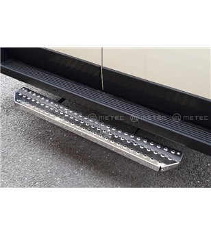 RENAULT TRAFIC 14+ RUNNING BOARDS VAN TOUR for rear doors pcs
