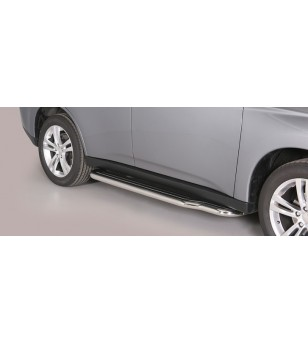 Mitsubishi Outlander 2013- Side Steps - P/341/IX - Sidebar / Sidestep - Unspecified