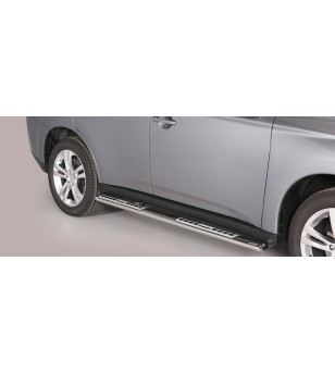 Mitsubishi Outlander 2013- Design Side Protection Oval - DSP/341/IX - Sidebar / Sidestep - Unspecified