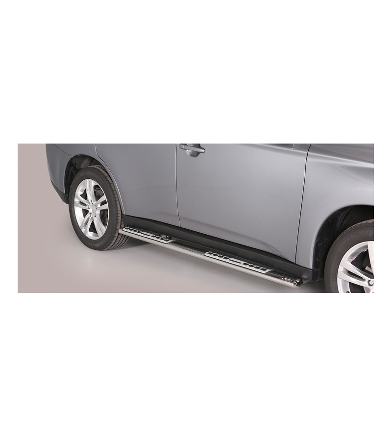 Mitsubishi Outlander 2013- Design Side Protection Oval - DSP/341/IX - Sidebar / Sidestep - Verstralershop