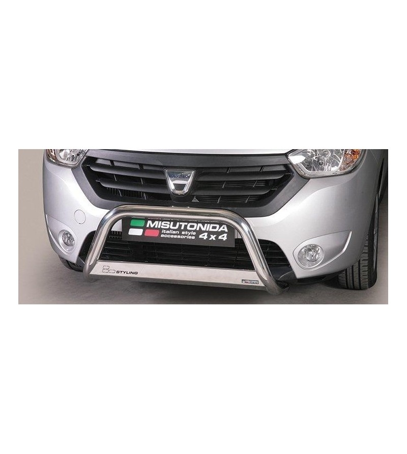 Dacia Dokker 2012- Medium Bar EU - EC/MED/334/IX - Bullbar / Lightbar / Bumperbar - Unspecified - Verstralershop