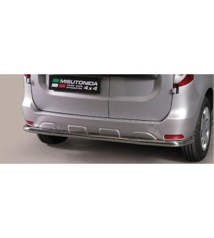 Dacia Dokker 2012- Rear Protection - PP1/334/IX - Rearbar / Rearstep - Unspecified - Verstralershop