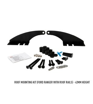 Ford Ranger 2016- Lazer Linear-36 Roofbar kit (with roof rails)