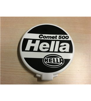Hella Comet 500 beschermkap wit bedrukt - 8XS 135 236-001 - Other accessories - Hella Protection Covers - Verstralershop