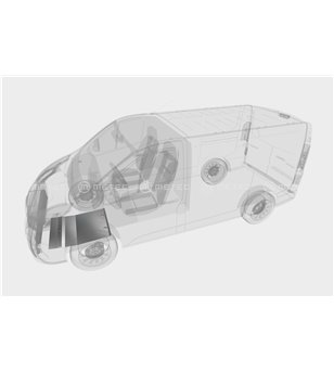 RENAULT TRAFIC 14+ SKID PLATE for Engine pcs - 828460 - Other accessories - Metec Van - Verstralershop