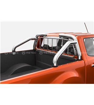FORD RANGER 19+ OVERROLLS 76mm with protection grille set