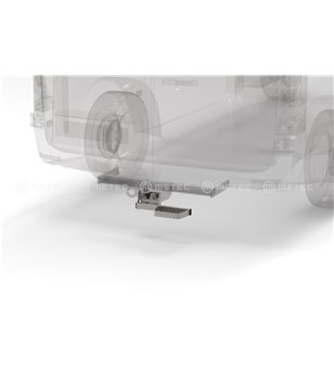 MB V class 19+ RUNNING BOARDS to tow bar RH LH pcs