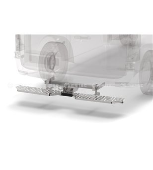MB V class 19+ RUNNING BOARDS to tow bar pcs EXTRA LARGE - 888423 - Rearbar / Rearstep - Verstralershop