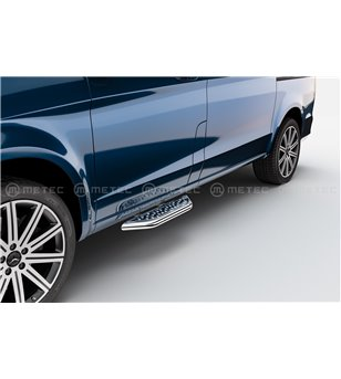MB V class + VITO 19+ RUNNING BOARDS VAN TOUR front door - 818017 - Sidebar / Sidestep - Verstralershop