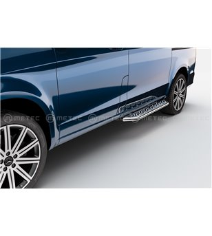MB V class + VITO 19+ RUNNING BOARDS VAN TOUR for sidedoor - 818019 - Sidebar / Sidestep - Verstralershop