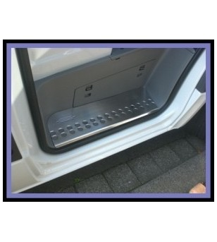 Mercedes Sprinter 2007+ DOOR SILL COVER STEEL (set - 2) stainless - 2103070079 - Stainless / Chrome accessories - Unspecified -