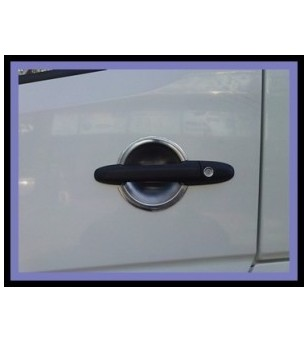 Mercedes Sprinter 2003-2006 DOOR HANDLE CUP - 4 DOOR STEEL (set - 4) rvs - 2114060003 - RVS / Chrome accessoires - Unspecified