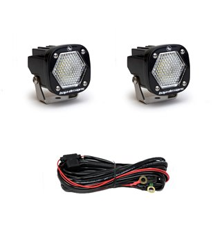 Baja Designs S1 - Work/Scene LED (pair) - 387806 - Lighting - Verstralershop