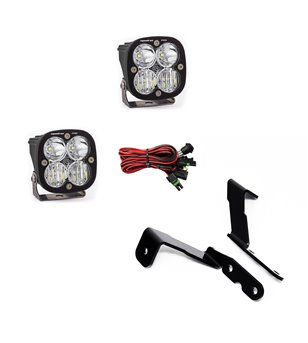 GMC Sierra 07-13 - Baja Designs GM A-Pillar Kit - Squadron Pro Driving Combo - 447576 - Lighting - Baja Designs Vehicle Specific