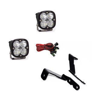 GMC Sierra 07-13 - Baja Designs GM A-Pillar Kit - Squadron Sport Driving Combo - 447575 - Lighting - Baja Designs Vehicle Specif