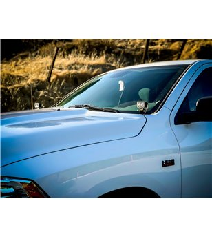 Dodge Ram 1500 09-19 Baja Designs A-Pillar Kit Pro - 447522 - Lighting - Verstralershop