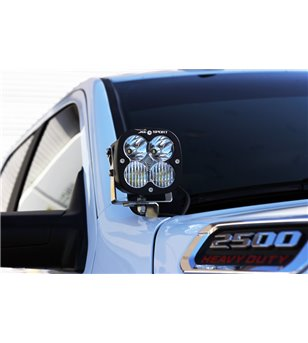 RAM 2500/3500 2019- Baja Designs A-Pillar Kit Pro - 448037 - Lighting - Baja Designs Squadron Pro - Verstralershop