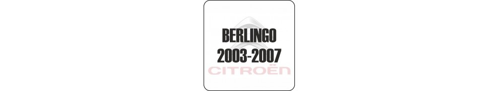 Citroen Berlingo Van 2003-2007 Accessories